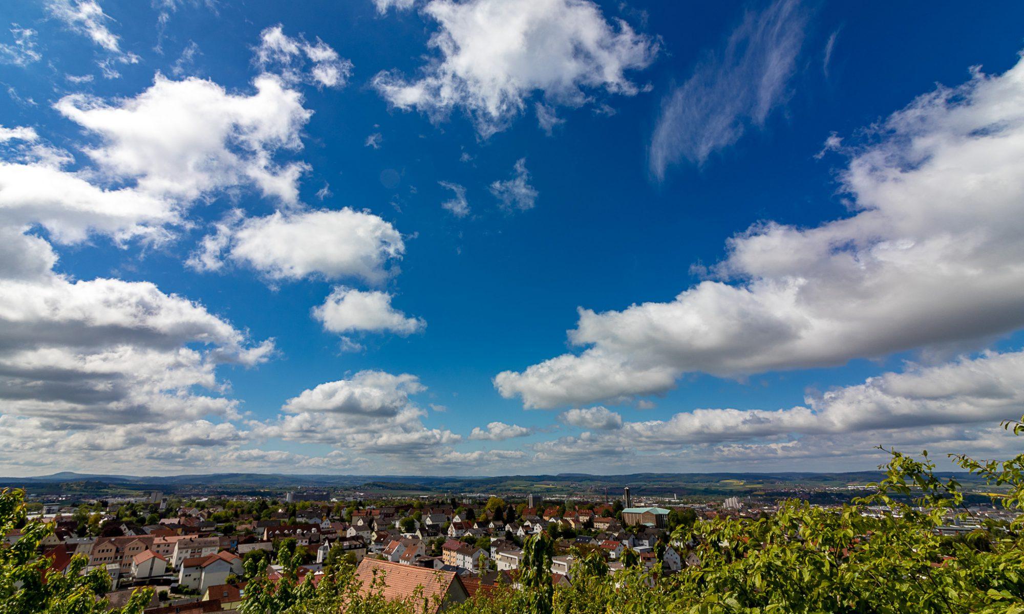 Blick über Petersberg